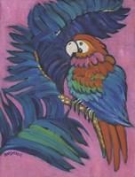 Hot Tropical Parrot Fine-Art Print