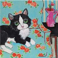 Couch Cat Fine-Art Print