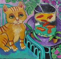 Le Chat De Matisse Fine-Art Print