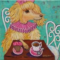 Proper Poodle Fine-Art Print