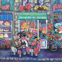 Bouquets De Saison Fine-Art Print