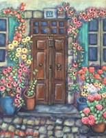 Doorway in Provence Fine-Art Print