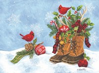 Holiday Boots Fine-Art Print