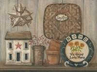 Home Country Shelf Fine-Art Print
