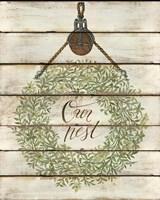 Our Nest Wreath Fine-Art Print