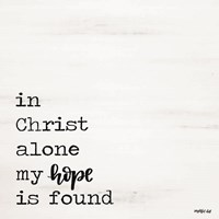 In Christ Alone Fine-Art Print