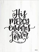His Mercy Fine-Art Print