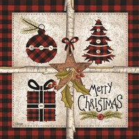 Four Square Merry Christmas Fine-Art Print