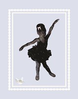 Ballerina Sketch 1 Framed Print