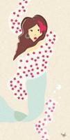 Mermaid Triptych I Fine-Art Print