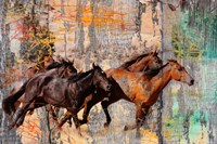 Galloping Horses Fine-Art Print