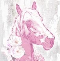 Pink Horse Fine-Art Print
