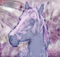 Palm Grove Horse Fine-Art Print