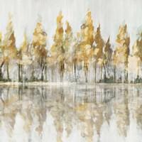 Across the Narrow Lake Fine-Art Print