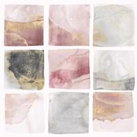Blush Squares I Fine-Art Print