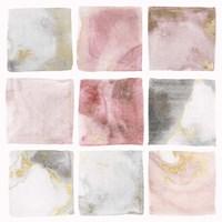 Blush Squares II Fine-Art Print