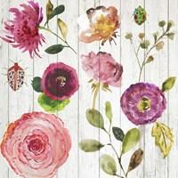 Folk Gardens I Fine-Art Print