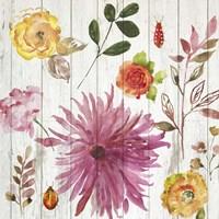 Folk Gardens II Fine-Art Print
