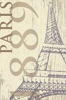 SS - Paris 1889 In Beige Fine-Art Print