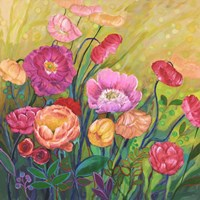 Flower Field I Fine-Art Print