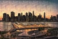 Lower Manhattan at Twilight Fine-Art Print