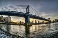 Manhattan Bridge & Skyline A Fine-Art Print