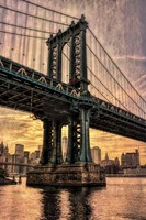 Manhattan Bridge & Skyline B Fine-Art Print