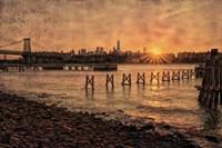 East River Sunset Fine-Art Print