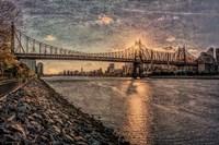 Sunset Behind Queensboro B Fine-Art Print