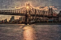 Sunset Behind Queensboro C Fine-Art Print