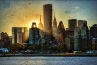 Mid-Manhattan Sunset A Fine-Art Print