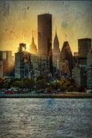 Mid-Manhattan Sunset B Fine-Art Print