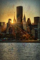 Mid-Manhattan Sunset C Fine-Art Print