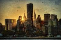 Mid-Manhattan Sunset D Fine-Art Print