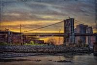 Brooklyn Bridge at Sunset Fine-Art Print