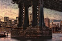 Base of Manhattan Bridge Fine-Art Print