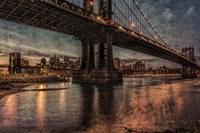 NYC Bridges at Twilight Fine-Art Print