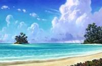 Island Shelter Fine-Art Print
