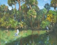 Egrets In Paradise Fine-Art Print