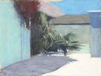 Pastel Palms Shapes Fine-Art Print