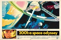 2001: A Space Odyssey Wall Poster