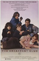 Breakfast Club Wall Poster