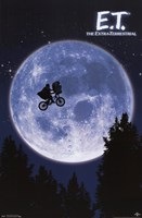 E.T. Wall Poster