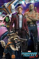 Guardians of the Galaxy 2 Wall Poster