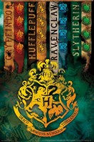 Harry Potter - Crests II Wall Poster