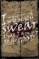 Harry Potter - I Solemnly Swear Wall Poster