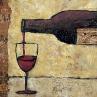 Red Wine Pour Fine-Art Print