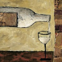 White Wine Pour Fine-Art Print