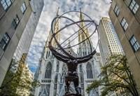 Rockefeller plaza New York Fine-Art Print