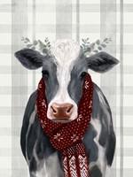 Yuletide Cow II Fine-Art Print